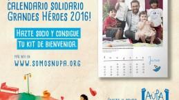 El Calendario Solidario De Los Pequeños Héroes De NUPA