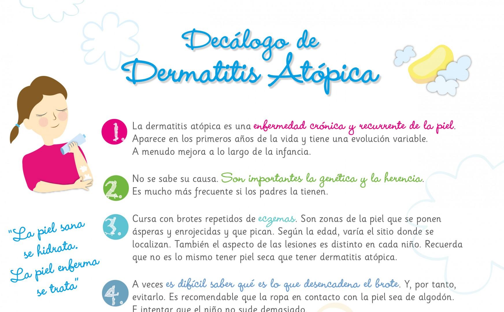 Decálogo De La Dermatitis Atópica