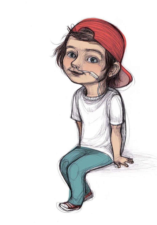 Ilustración que aparece en Cuentos para entender mi mundo