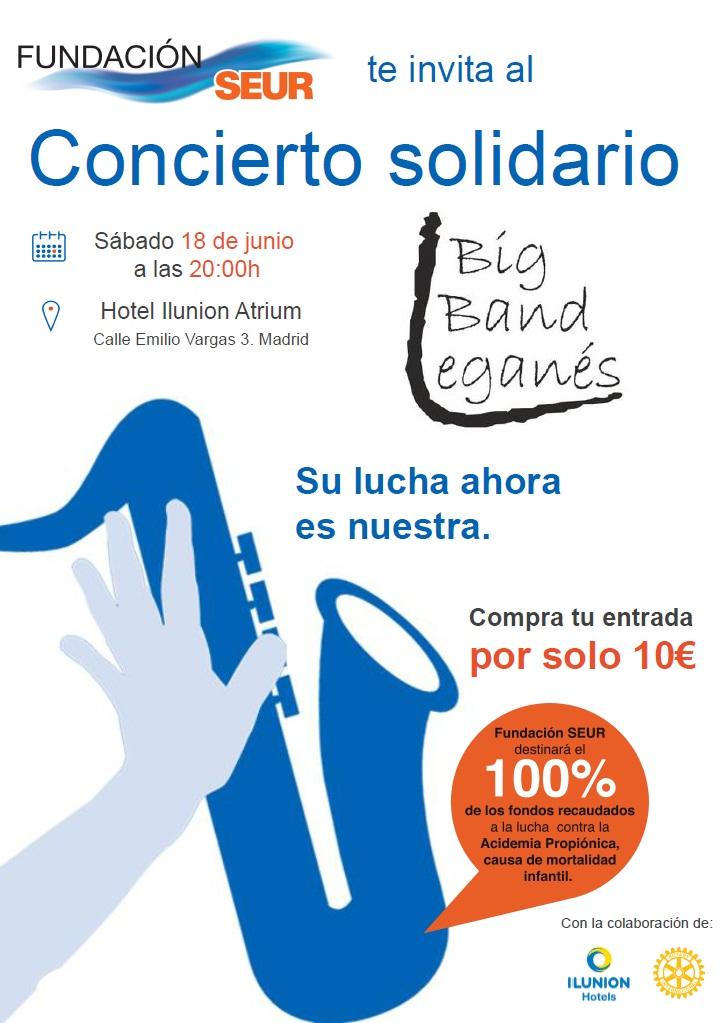 Concierto Solidario Fundación SEUR