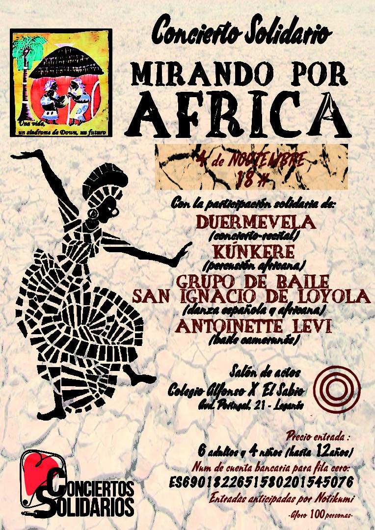 Mirando Por África. Evento Solidario